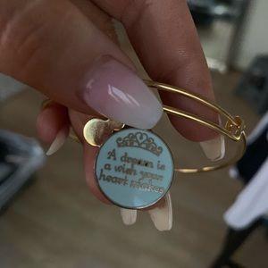 Alex and ani Cinderella bracelet
